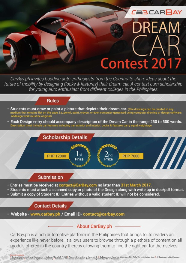 CarBay Dream Car Contest Final