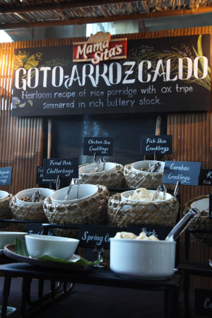 Mama Sita's Goto-Arroz Caldo Bar