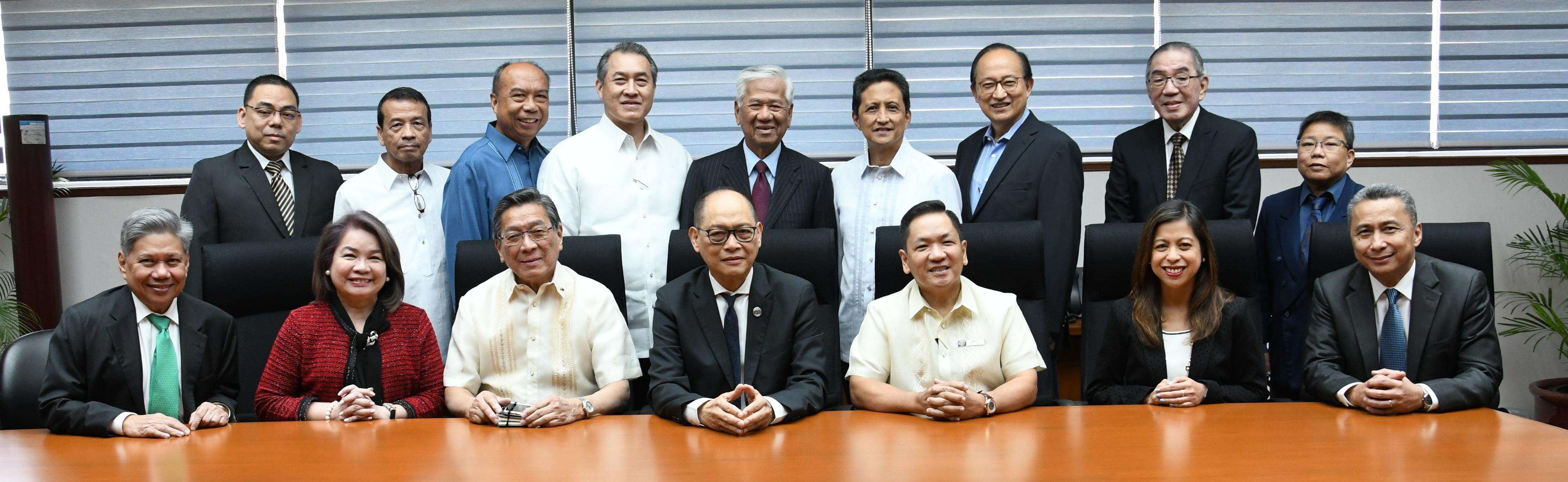 Courtesy call-Gov. Diokno