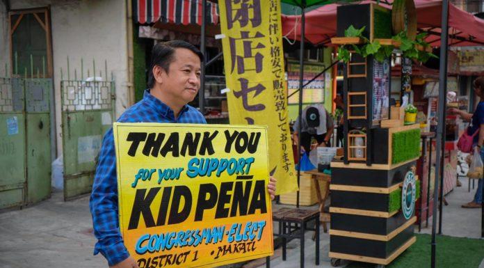 Congressman Kid Peña