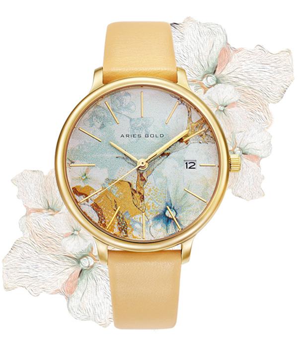 Aries Gold Enchant Fleur Collection