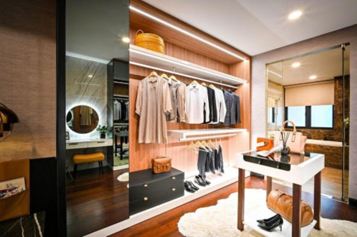 Three Tips for Creating a Luxury Dressing Room